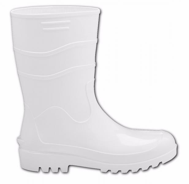 Bota de Segurança PVC Branca cano médio Bracol - PROMAX EPI ... e2c764c6f4